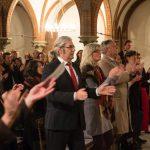 Benefiz-Konzert |Kirche St. Johannis |Publikum applaudiert