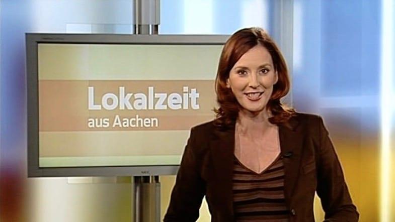 Kristina zur Mühlen moderiert Lokalzeit aus Aachen |Regionalmagazin WDR-Fernsehen