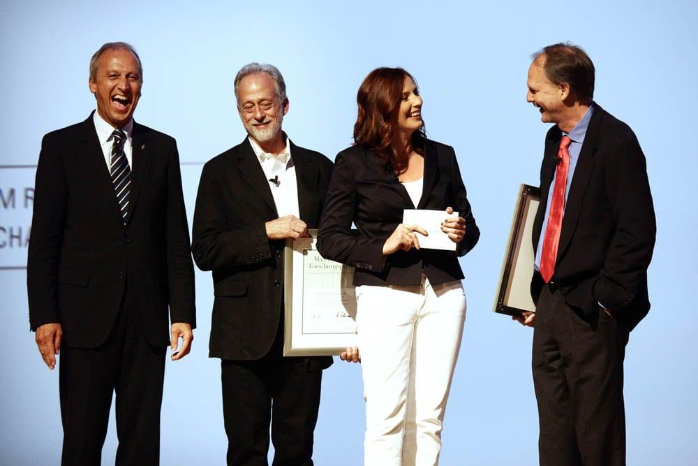 Max-Planck-Forschungspreis 2010 |Talk mit Preisträger Michael Tomasello und Timothy Bromage