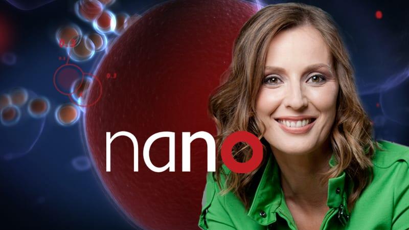 Autogrammkarte nano |TV-Moderatorin Kristina zur Mühlen