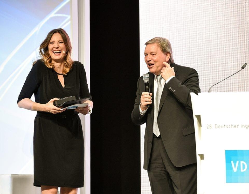Deutscher Ingenieurtag 2017   TV- und Event-Moderatorin Kristina zur Mühlen  Gala-Moderation