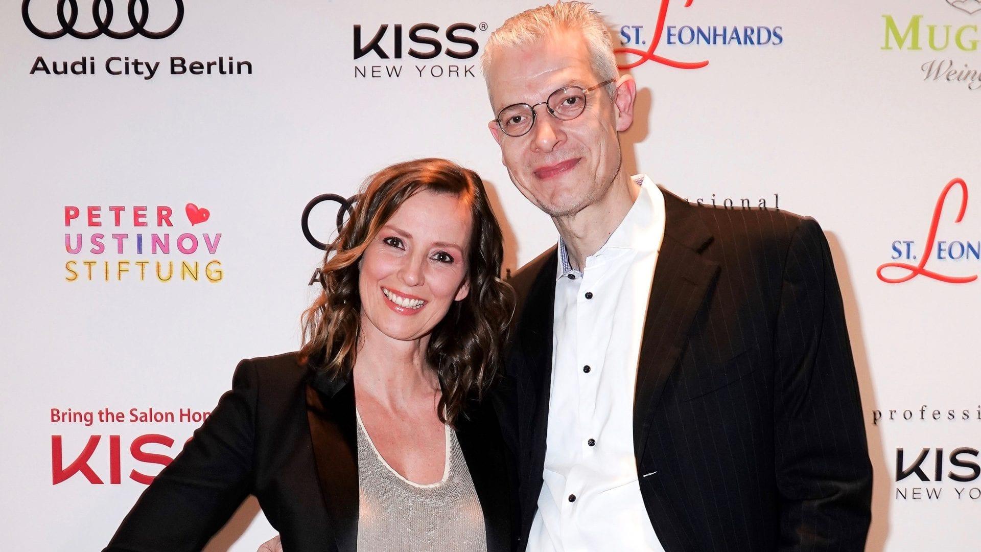 Berlinale 2018 |Moderatorin Kristina zur Mühlen und Andreas Schwarzhaupt |Peter Ustinov Stiftung
