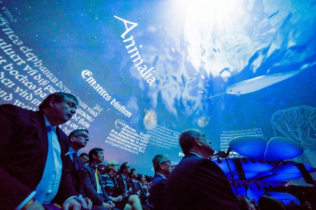Publikum im M-Sphere