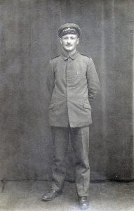 Historisches Foto von Wilhelm Benz