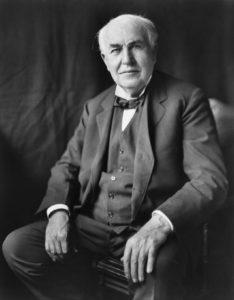 Porträt von Thomas Edison
