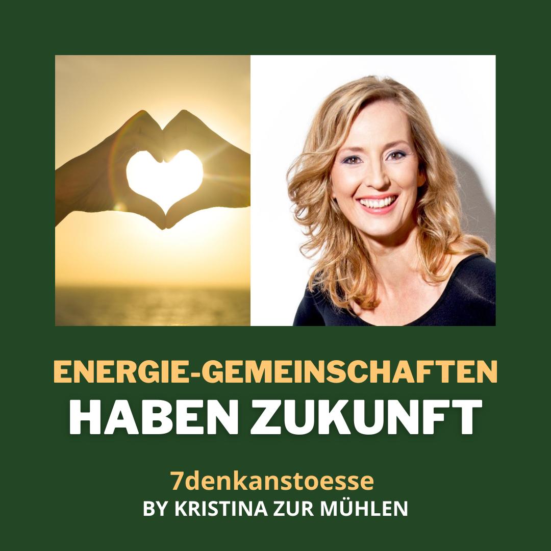 Energie-Gemeinschaften haben Zukunft |Schriftzug