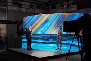 Live-Diskussion im virtuellen Studio mit Marc Beise